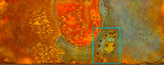魔兽世界鞭尾龙的蛋在哪