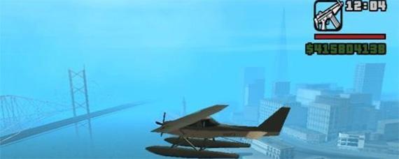 侠盗猎车手圣安地列斯飞机在哪里
