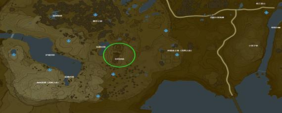 塞尔达传说4座神庙交汇处在哪