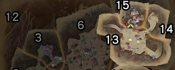 怪物猎人角龙在哪个区