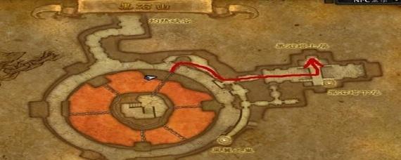 黑石塔上层副本入口图片