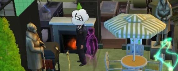 模拟人生4怎么联系鬼魂 第1张