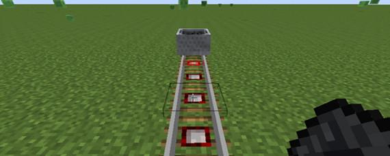 我的世界探测铁轨如何用