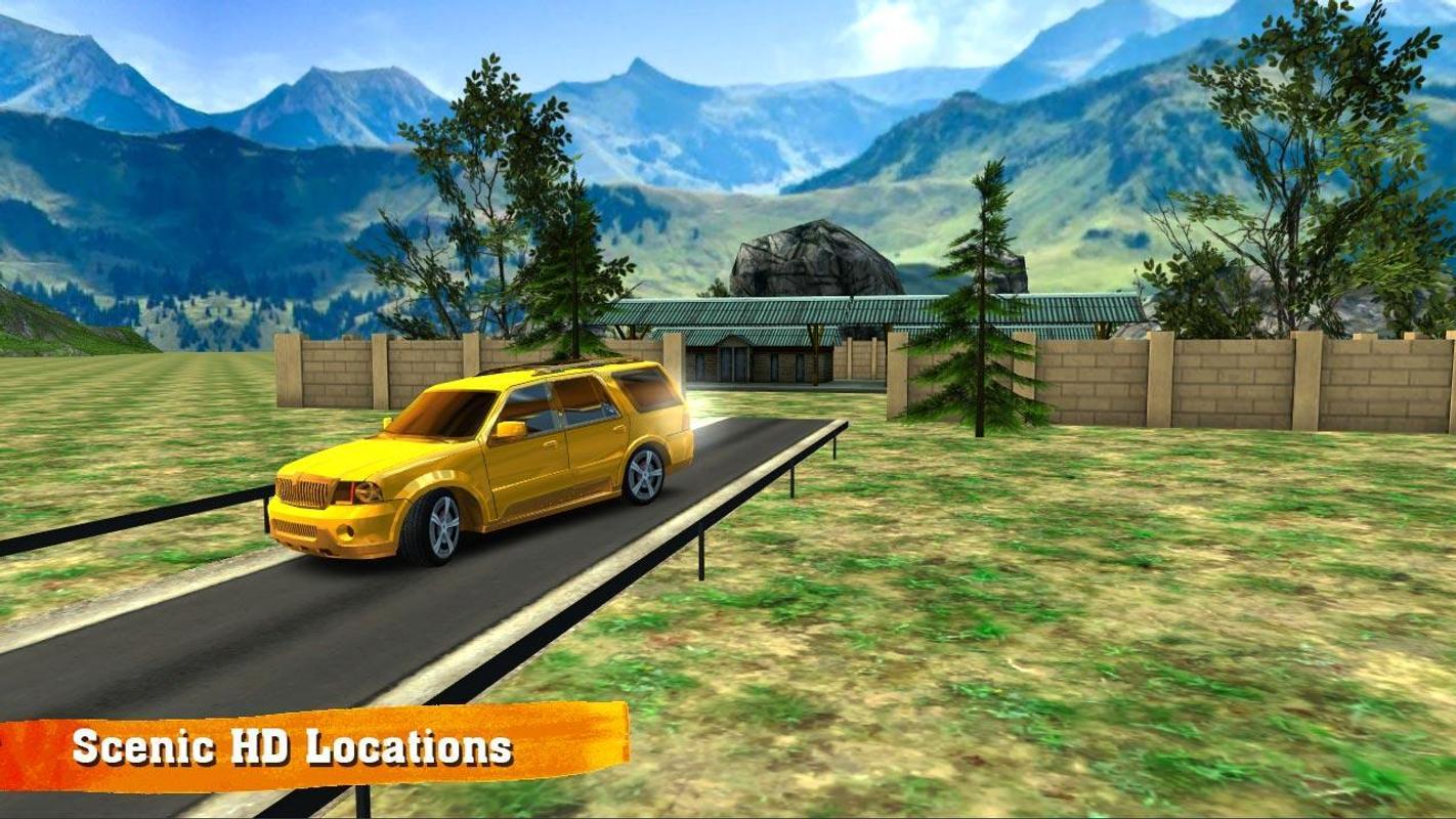 越野车驾驶游戏截图2