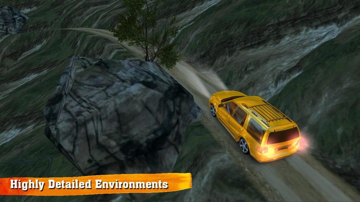 越野车驾驶游戏截图3