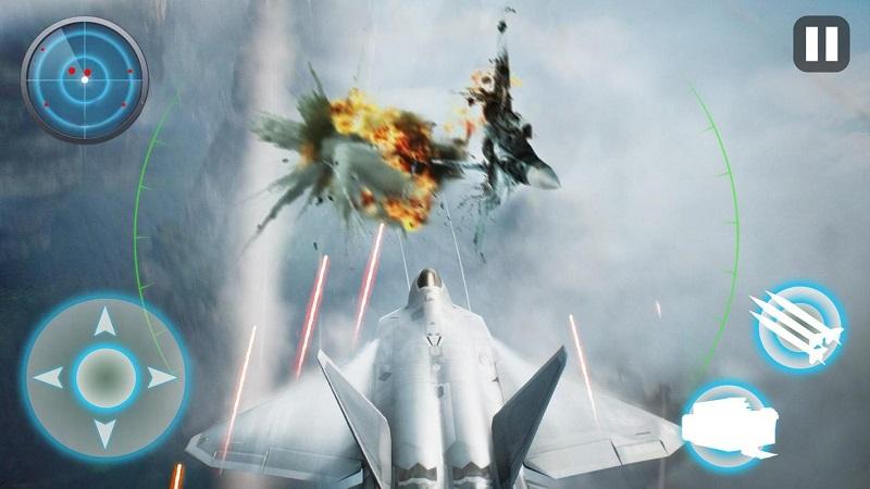 飞机战争:现代空战游戏截图2