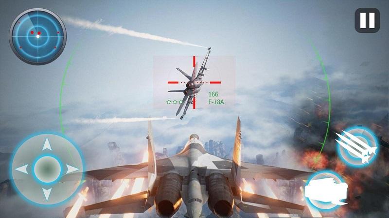 飞机战争:现代空战游戏截图3