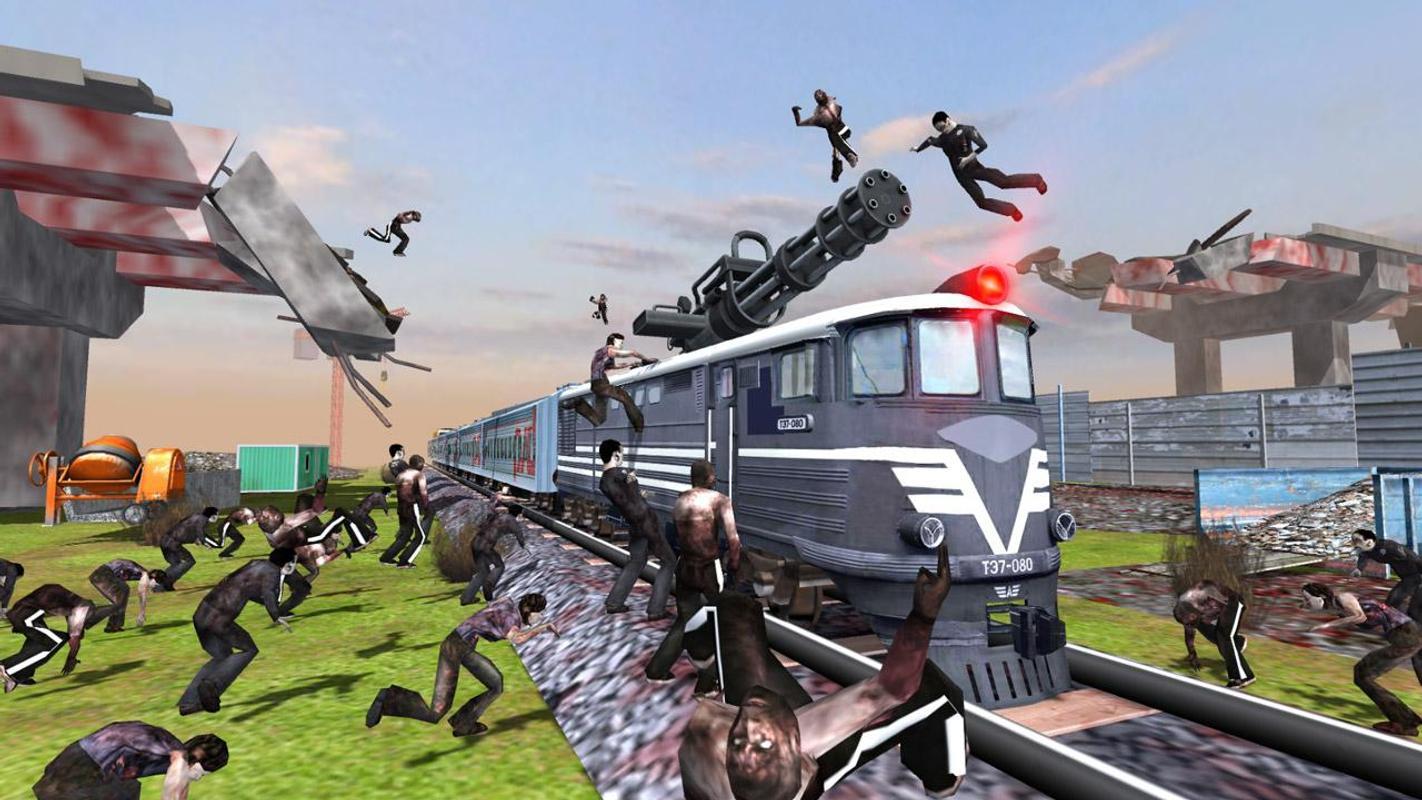 列车射击:僵尸战争游戏截图2