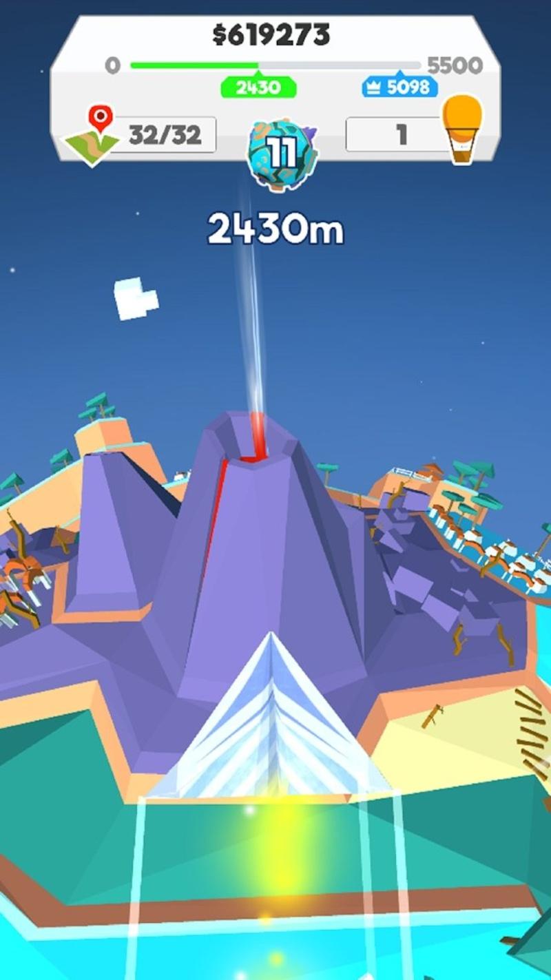 纸飞机星球游戏截图1