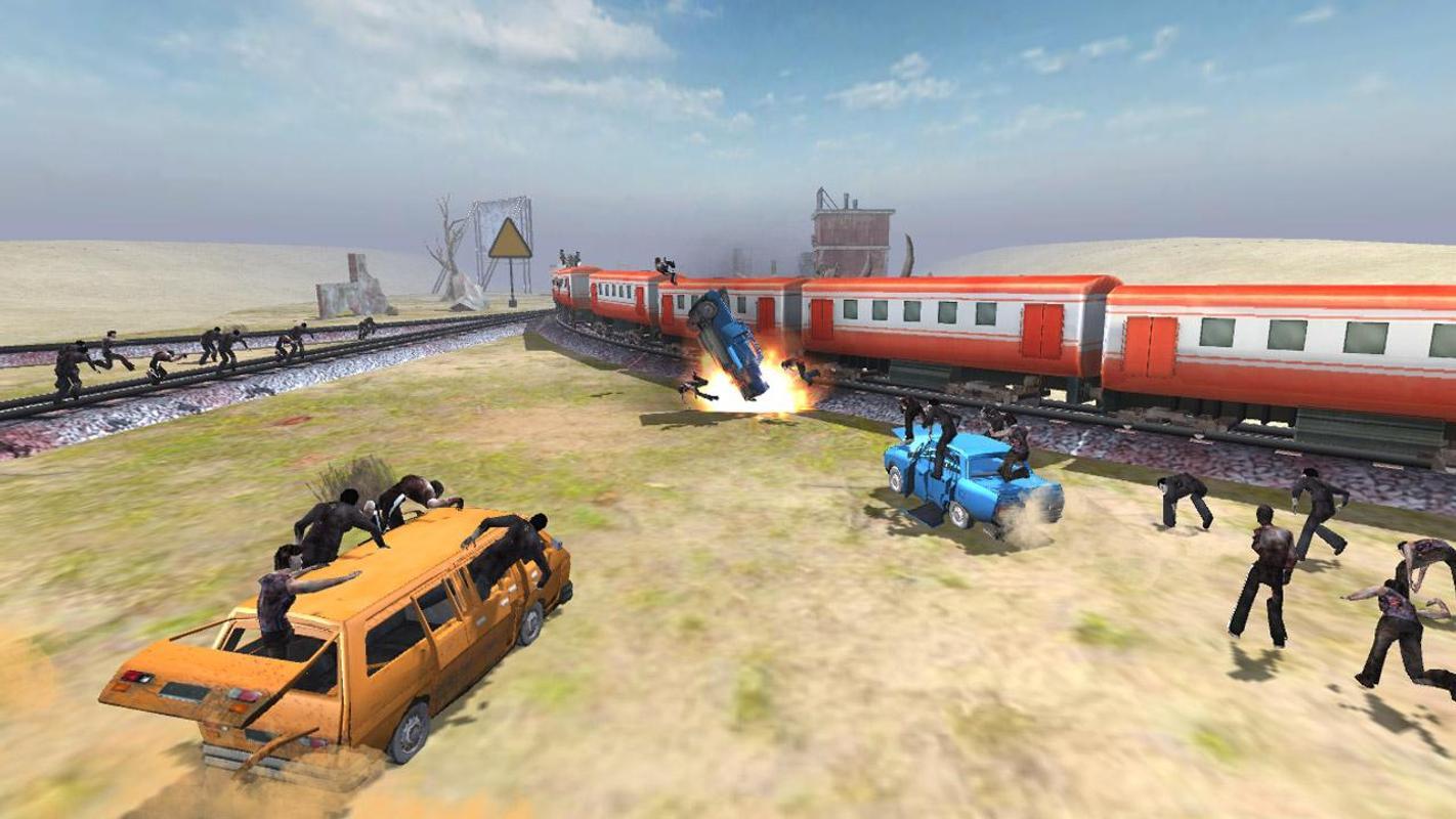 列车射击:僵尸战争游戏截图1