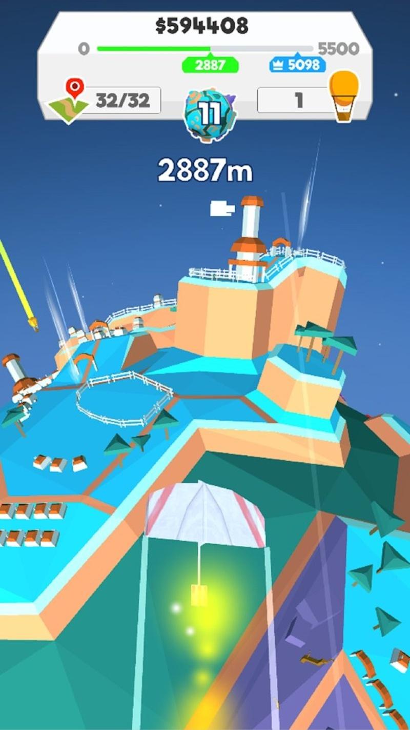 纸飞机星球游戏截图2