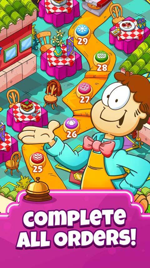 加菲猫快餐车游戏截图1