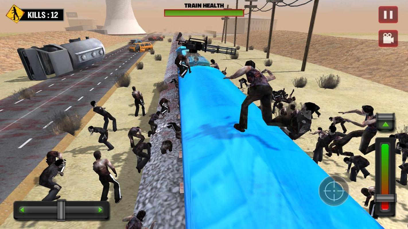 列车射击:僵尸战争游戏截图3