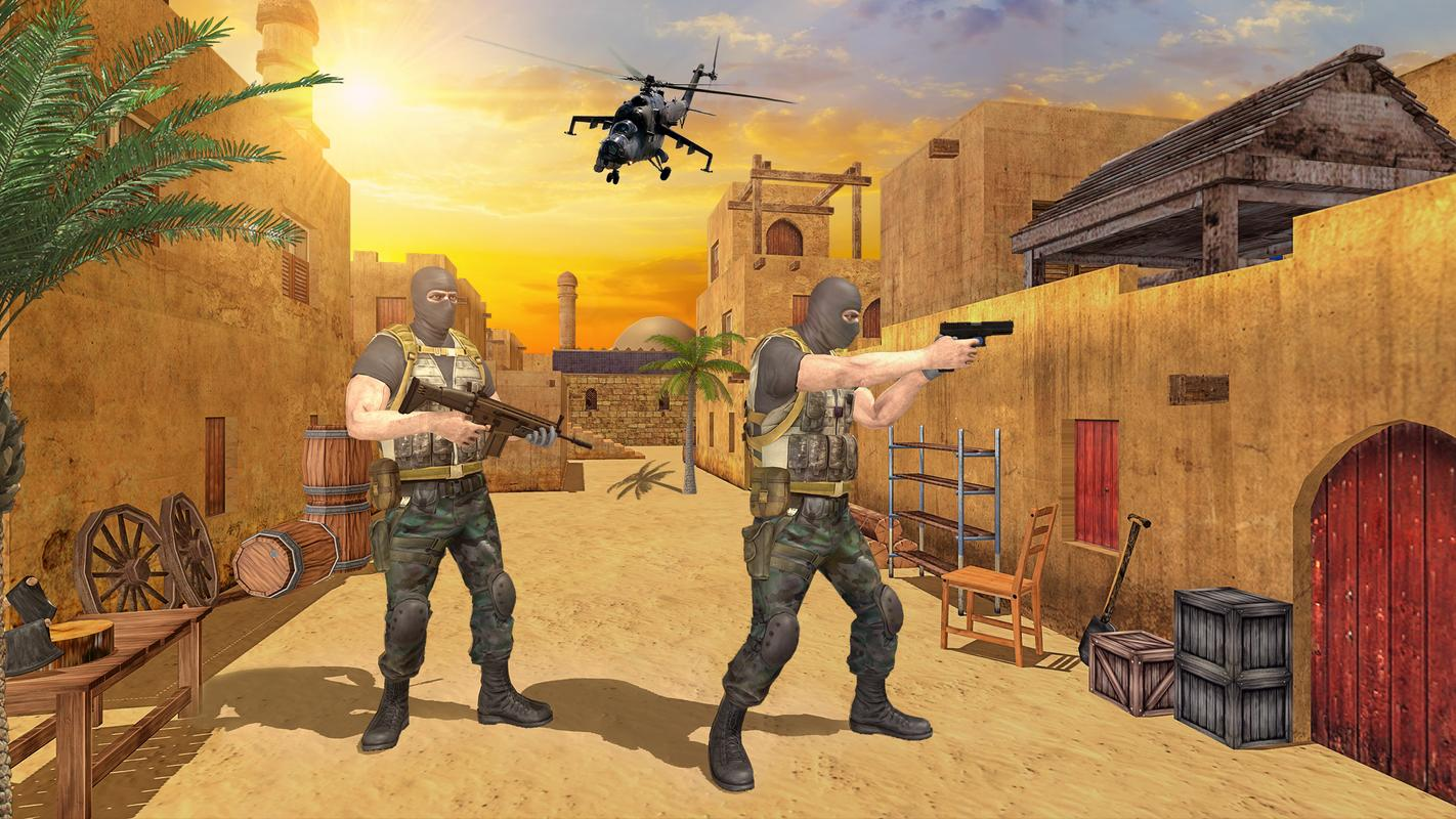 FPS反击进攻游戏截图1