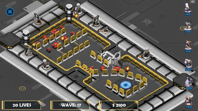 科幻塔防御游戏截图3