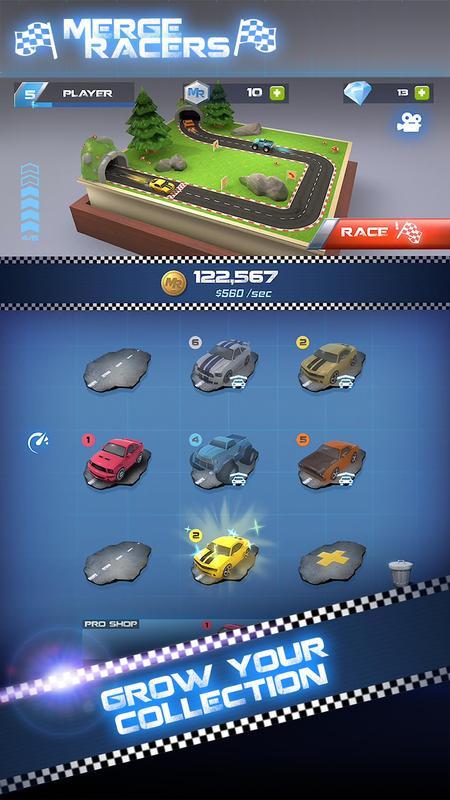 合成赛车手游戏截图1