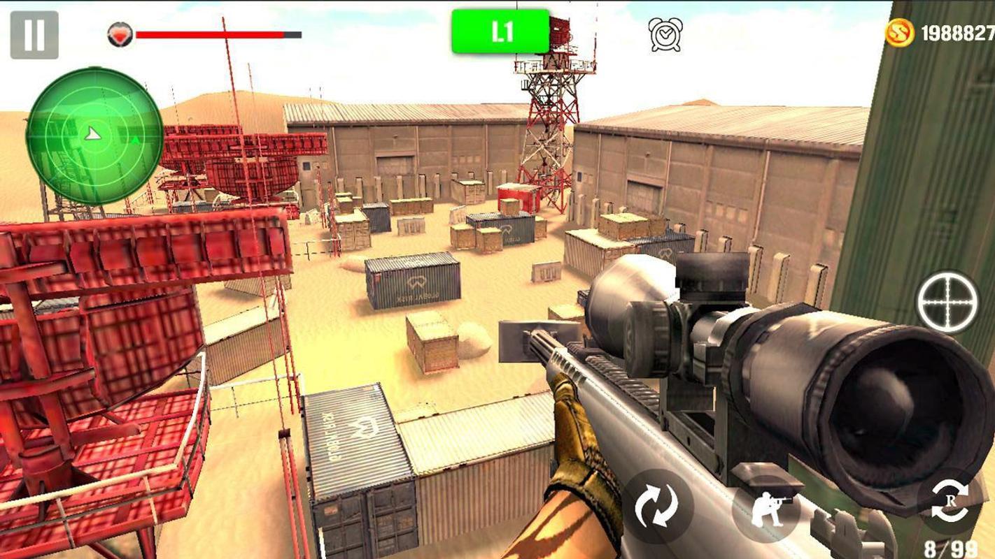山地射击狙击手游戏截图1