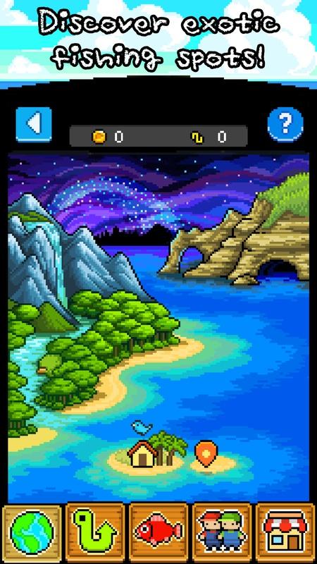 钓鱼天堂游戏截图2