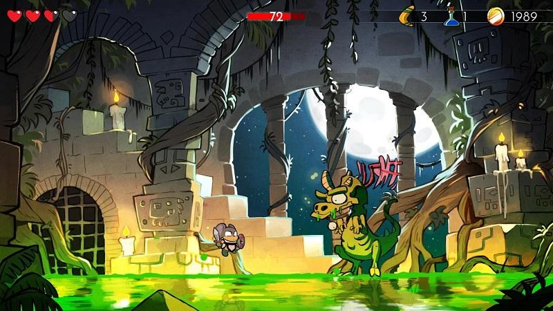 神奇小子:龙之陷阱游戏截图1