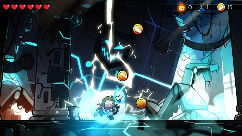 神奇小子:龙之陷阱游戏截图3