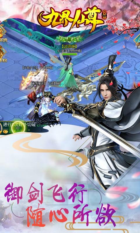 九界仙尊GM版游戏截图3